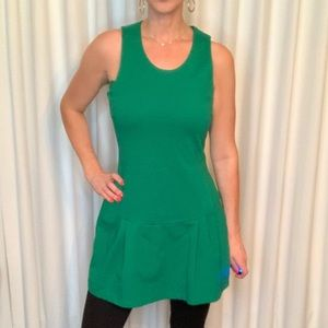 Zara green tunic